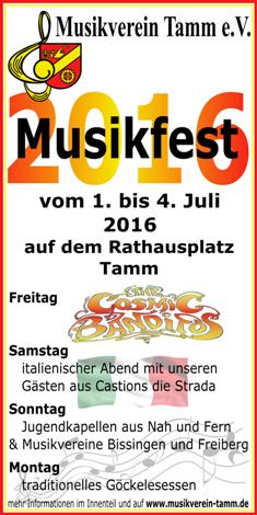 Musikfest 2016